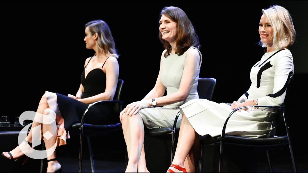TimesTalks: The Glass Castle with Naomi Watts, Brie Larson, and ...