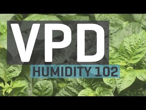Humidity 102: Vapor Pressure Deficit — VPD Chart
