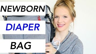 WHATS IN MY NEWBORNS DIAPER BAG? ♡(HEY GIRLY'S/GUYS! ♡ I thought I'd show you whats in my 3 month olds diaper bag! He is almost out of the newborn phase so why not show you what I used ..., 2016-01-18T15:00:01.000Z)