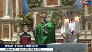 11º DIA DO TREZENARIO DE SANTO ANTÔNIO