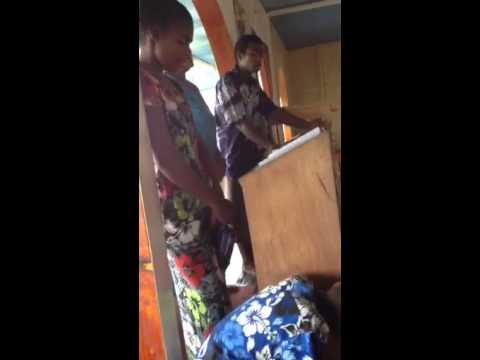 Chanting at Greek Orthodox Sacred Mission Center, Fiji - Part 4