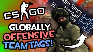 Scoby's Team Tags (Counter-Strike: Global Offensive - Funny Moments)
