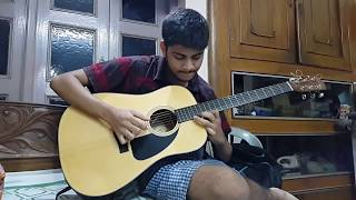 DORAEMON(Theme song)Acoustic guitar cover by Soumyajit pyne. .