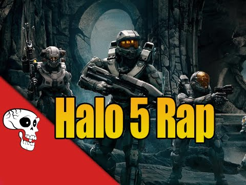"HALO 5 RAP by JT Music feat. Andrea Storm Kaden - ""Angel By Your Side"""
