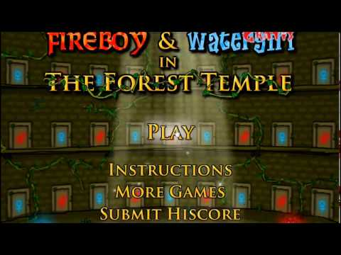 Jogo de Água e Fogo (Fireboy e Whatergirl in The Forest Temple)