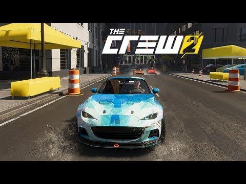 The Crew 2   #2 Carreras Callejeras Mazda MX-5    Street Racing   Street Race