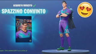 I SHOPPATO THE NEW SKIN OF FOOTBALLER❗😱 Fortnite, Fortnite