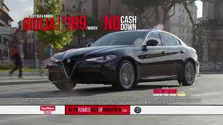 Test Drive an Alfa Romeo Today at Southern & Feel the Difference!