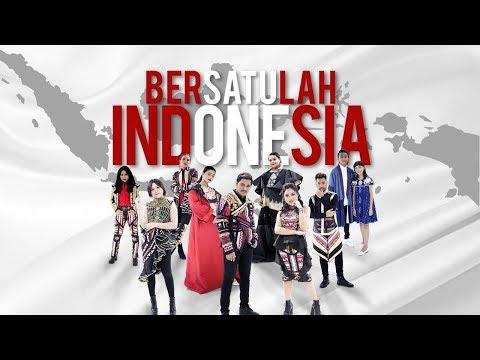 Bersatulah Indonesia - Nowela,  Citra, Abdul, Jodie, Glenn, Marion, Ayu, Joan, Ryan & Sharon