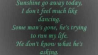 Jonathan Edwards - Sunshine (lyrics)