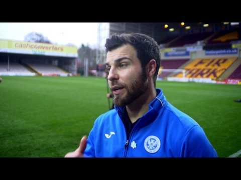 Richard Foster - Post Match v Motherwell 18/3/17