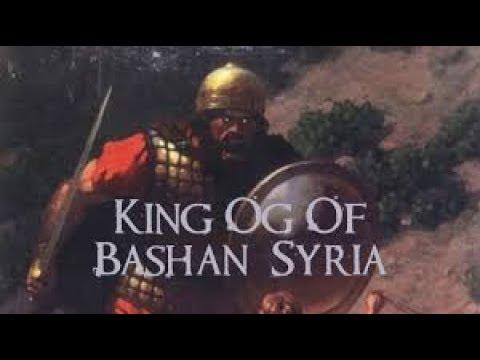 Nephilim Offspring King Og of Bashan