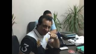 أحمد مرتضى يعرض بث مباشر أثناء متابعته مشكلة انقطاع المياه عن أرض اللواء