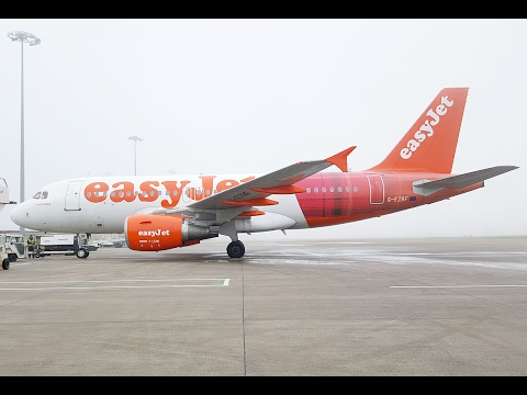 EasyJet A319 Full Flight | Belfast International to Luton