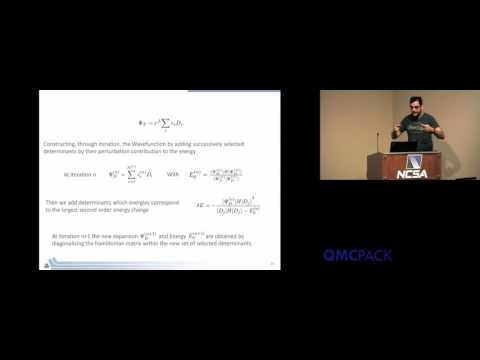 13 - Anouar Benali - CIPSI: A Simple Method to Converge Many-Body Wavefunctions in QMC