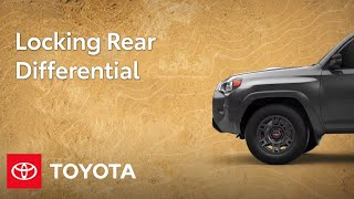 homepage tile video photo for Toyota Trucks and SUV Feature: Rear Differential Lock | Toyota