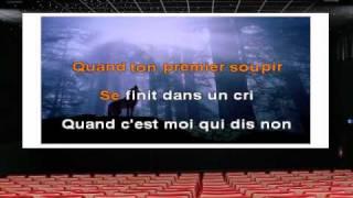 Karaoké - Johnny Hallyday - Que je t'aime