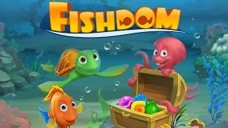 Fishdom - Playrix Level 1-4 Gameplay Walkthrough