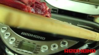Рецепты от Redmond: Мясо с картофелем и сыром (RBM-M1902)