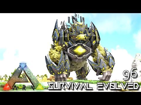 ARK: SURVIVAL EVOLVED - MYTH KING KONG TEK MEGAPITHECUS E96 !!! ( ARK EXTINCTION CORE MODDED )