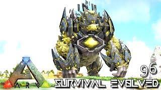 ARK: SURVIVAL EVOLVED - MYTH KING KONG TEK MEGAPITHECUS E96 !!! ( ARK EXTINCTION CORE MODDED )