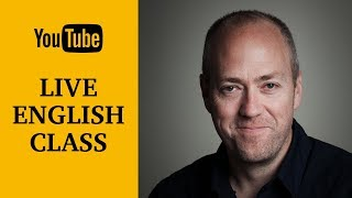 Live English class | Phrasal verbs | October 3, 2017