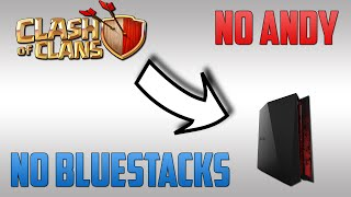 How to play Clash of Clans on PC (no bluestacks/andydroid) December 2016(This is how to play Clash of Clans with no lag on PC without using Bluestacks or Andyroid. Enjoy! (: Follow me on Google+!, 2016-05-11T13:50:58.000Z)
