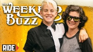 Lacey Baker & Vanessa Torres: Girl Skaters & Meow Skateboards! Weekend Buzz ep. 69 pt. 1