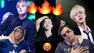 STRAIGHT GUYS REACT TO BTS HOTTEST MOMENTS!