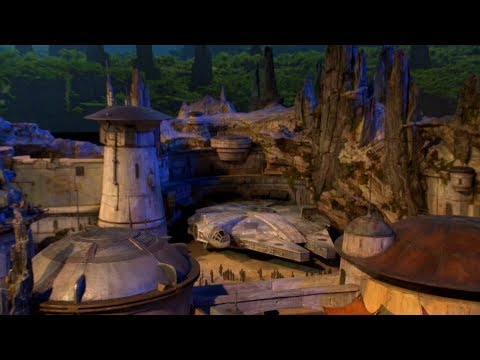 Star Wars Land Is Revealed | Los Angeles Times