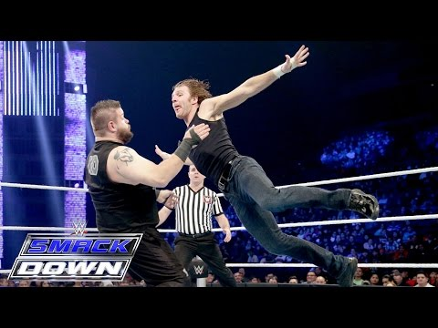 Dean Ambrose vs. Kevin Owens – Intercontinental Title Match: SmackDown, January 7, 2015