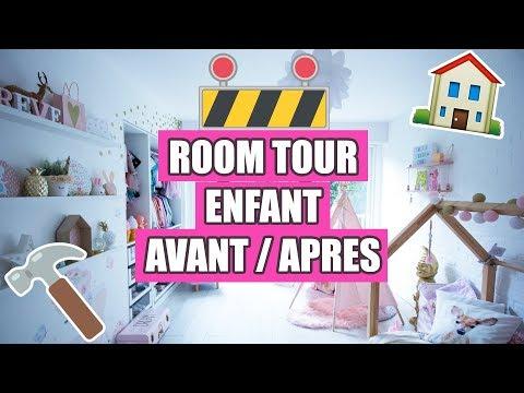 ❥ 621 - ROOM TOUR AVANT-APRÈS DE LA CHAMBRE DE MILABABYCHOU ! 👏