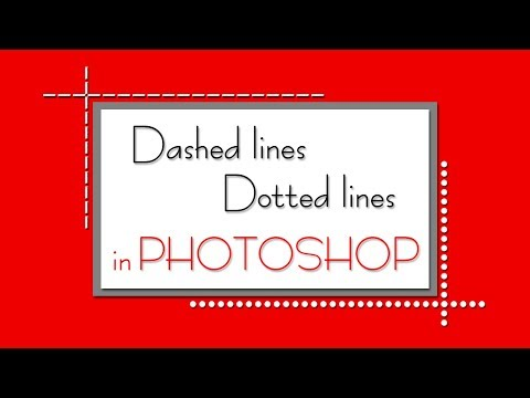 ❤💕 How To Create Dashed Lines & Dotted Lines In Photoshop