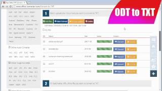 How to Convert ODT to TXT, OpenOffice to TXT