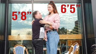 Tall Girl Dating Social Experiment!