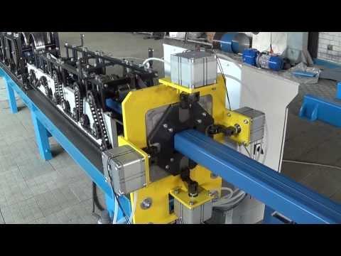 Оборудование для производства квадратной трубы водосточных систем