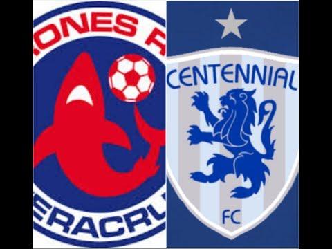 Tiburones Rojos vs Centennial FC