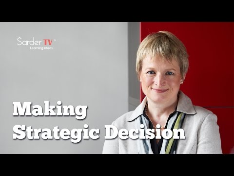 Who should be making strategic decisions? Rita McGrath, Author, The End of Competitive Advantage
