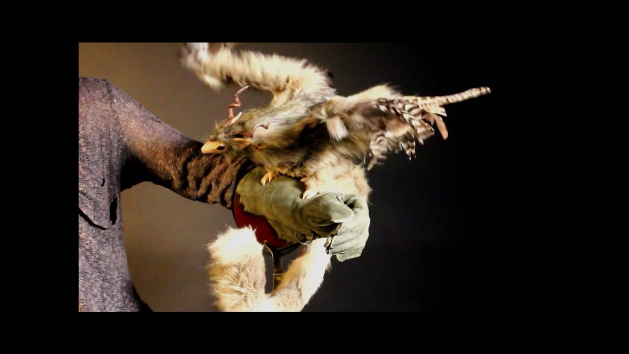 animatronic dragon puppet