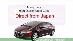 High Quality Used Cars Direct From Japan at SrilankaCarTrade.com