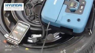 видео Автомобильный компрессор Hyundai HHY 30