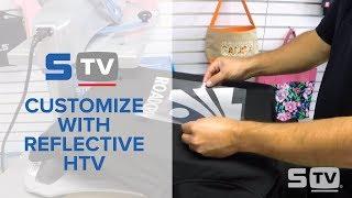 How to Custom Print Reflective HTV