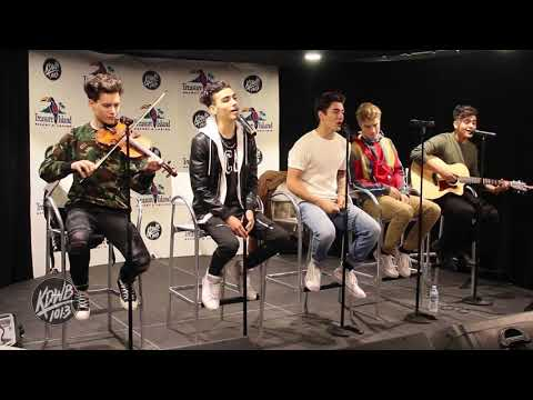 In Real Life covers Havana live in the KDWB Skyroom