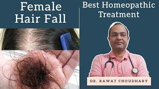 महिलाओं के बाल झड़ना   Female Hair Fall   Female Hair Loss   Yash Homeopathic Center Jodhpur