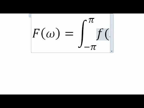 Integral Microsoft Equation Editor Youtube