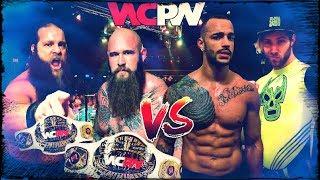 War Machine vs. Ricochet & Angélico   WCPW highlights