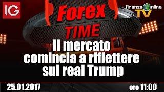 Forex Time: Il mercato comincia a riflettere sul real Trump