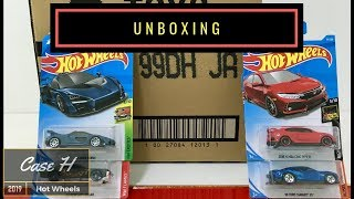 Unboxing - Hot Wheels Case H 2019