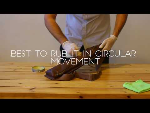 DIY-How To Take Care Of A Leather Bag With Beeswax
