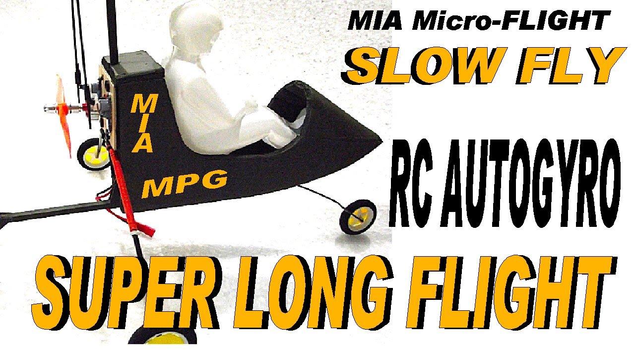 MIA MPG RC Autogyro SLOW FLY Ultralight Park Flyer School ...